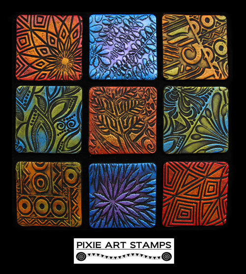 Mike Breil Pixie Art Stamps